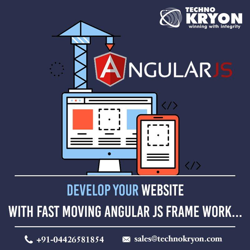 Start developing your website with fast moving Angular Js framework.  For more details visit -  https://www. technokryon.com/angularjs-deve lopment-company  …   #AngularJs #AngularJsFrameWork #AngularJsDevelopment #TechnoKryon<br>http://pic.twitter.com/rdUF6qJ7Rd