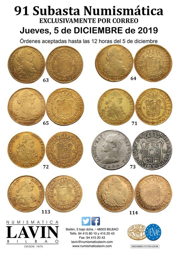 Subasta 91 de Numismática Lavín el 5 de diciembre EIH1yMyWsAA6-BQ?format=jpg&name=large