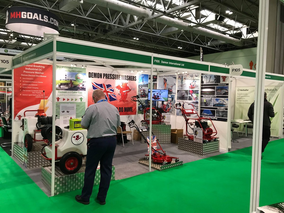 test Twitter Media - We are OPEN at @IOG_SALTEX 2019! Demon are exhibiting the latest range including the LPG and Electron Mini Bowsers on Stand F105 Come along and see us!  #saltex #pressurewashers #cleaning #cleaningequipment #nec #birminghamnec #iogsaltex https://t.co/5eLnTJdhZo