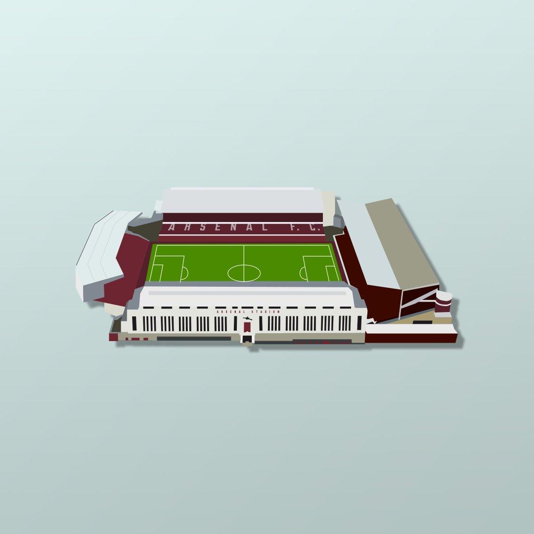 Arsenal highbury strip