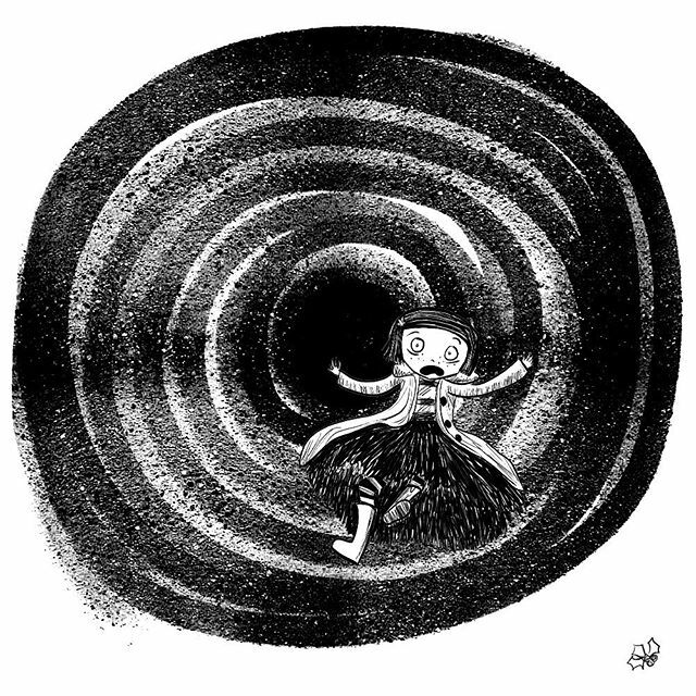 Holly Hammond On Twitter A Dizzy Coraline Falling Through The Tunnel For Inktober Inkxlaika19 Inkxlaika2019 Laikastudios Https T Co Ofxelydkx7 Https T Co Urmvg4yqqt