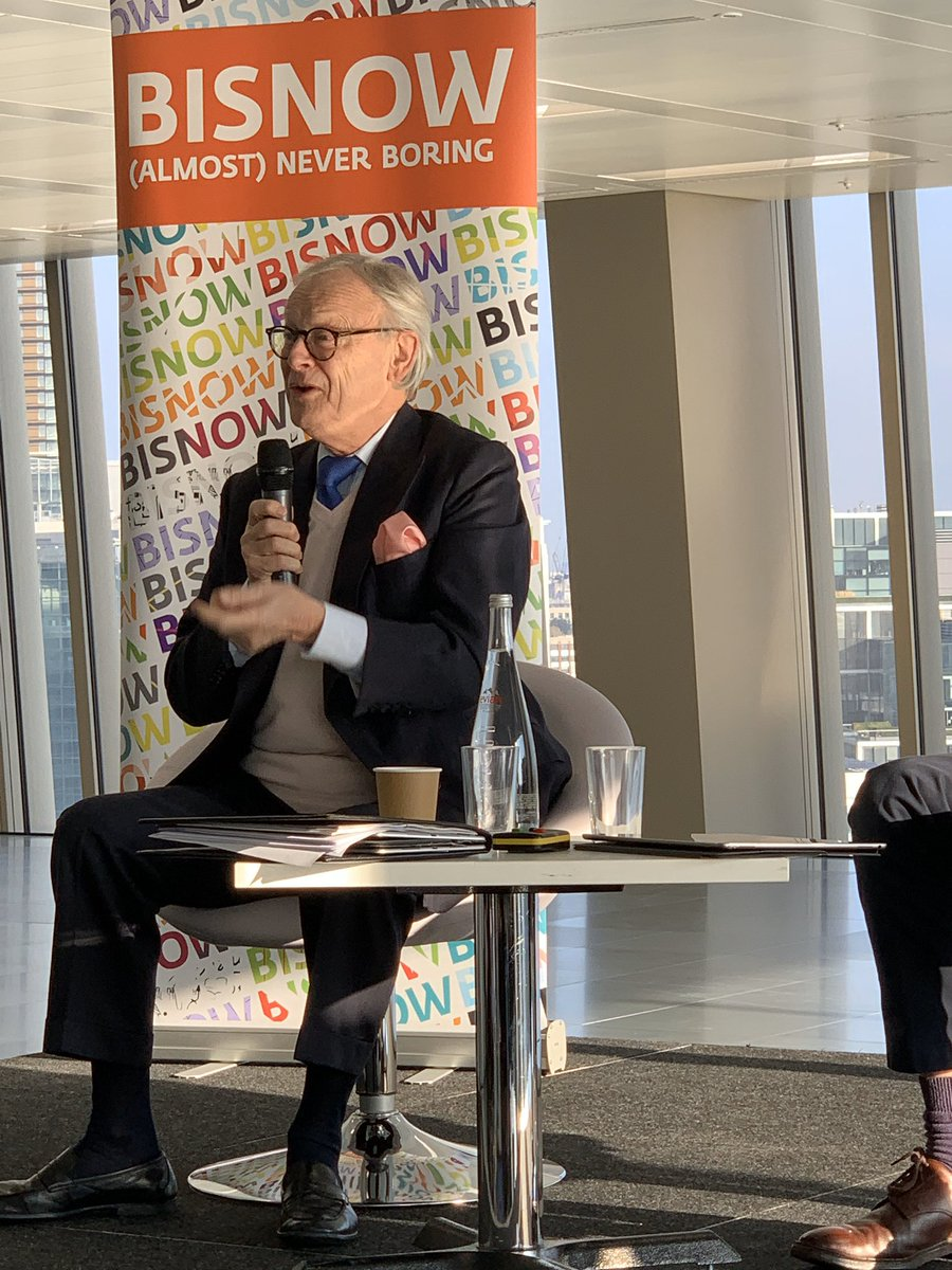 Lord Deben makes powerful case for taking personal responsibility and making small changes to our lives. That means no Evian bottled water from France! #BisnowEurope #ClimateChange