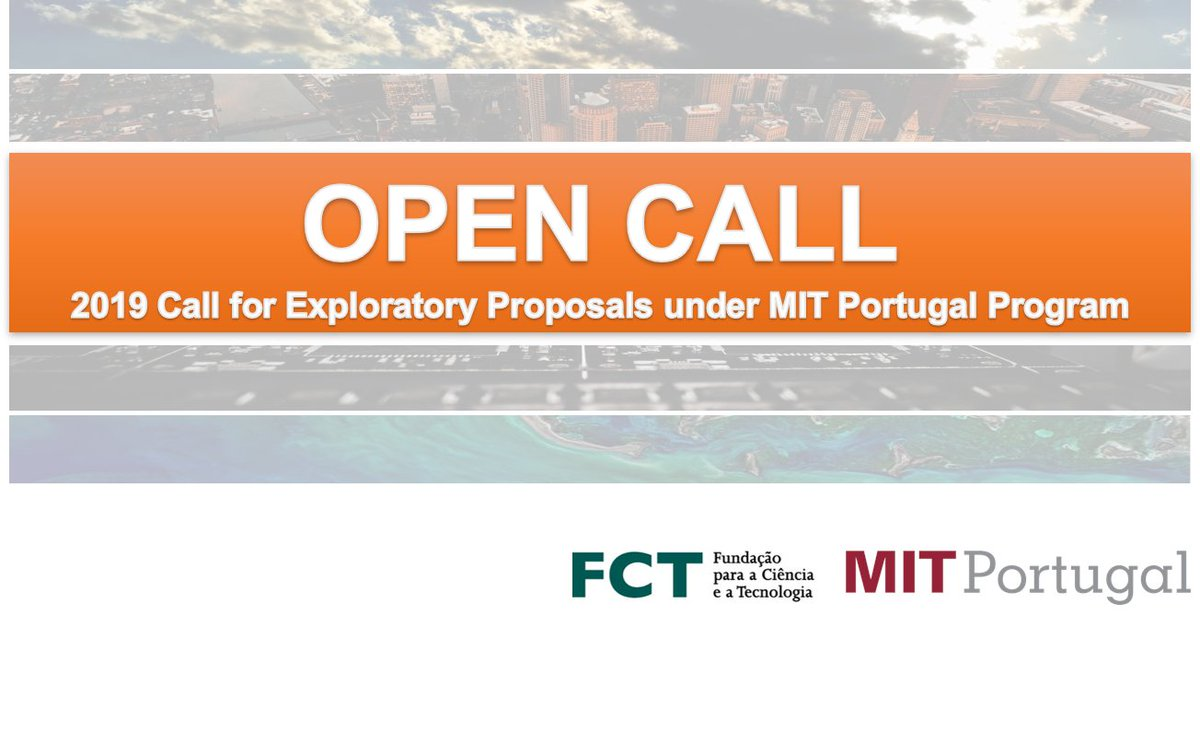 ‼️EXTENDED DEADLINE for the submission of proposals for Exploratory projects!  📍 19 Dec. 2019, 5:00 pm (Lisbon time)  More information on our website: https://t.co/58BpckM6R1