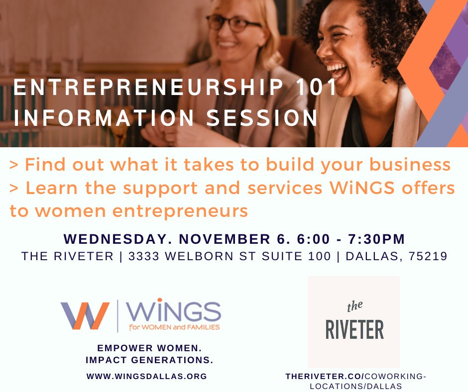 test Twitter Media - Do you dream of starting your own business but don't know where to get started?  Or do you wan to level up with your current business? WiNGS can help.  Located at The Riveter, co-working space Built By Women, For Everyone.  Sign-up for your spot at:  https://t.co/0SeRb4Yldp https://t.co/Uq6Xx3bHAy