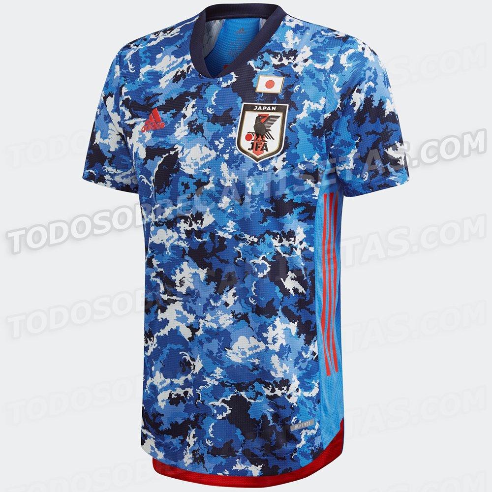Japan 2020 Home Kit LEAKED Todo Sobre Camisetas