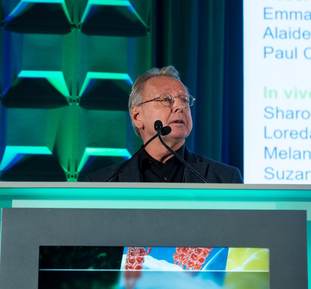"""#Targets19 webcast: View Paul Workman's Plenary Session presentation on """"Inhibitors of the HSF1 stress pathway derived from phenotypic screening— Targeting non-oncogene addiction in ovarian and other cancers."""" bit.ly/36cUYYp"""