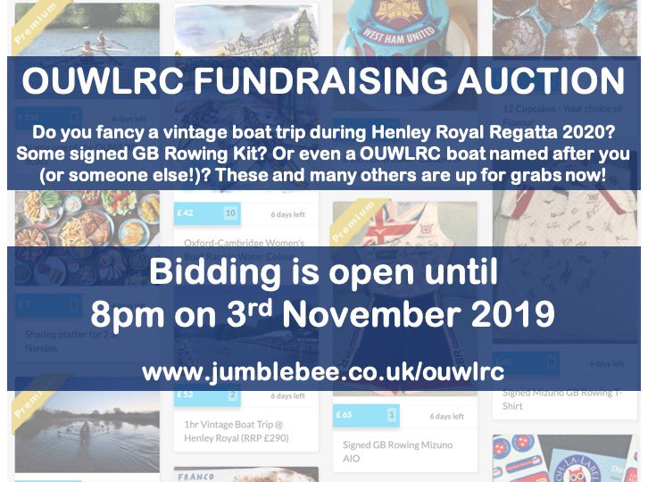 test Twitter Media - ⭐️ FUNDRAISING AUCTION ⭐️  OULWRC are running an auction with some fantastic prizes to raise funds for the coming season! Check out https://t.co/AvcooNPGz8 to bid on some money-can't-buy items, and a mixture of small and big ticket items! https://t.co/Wg7ZJVA2lo