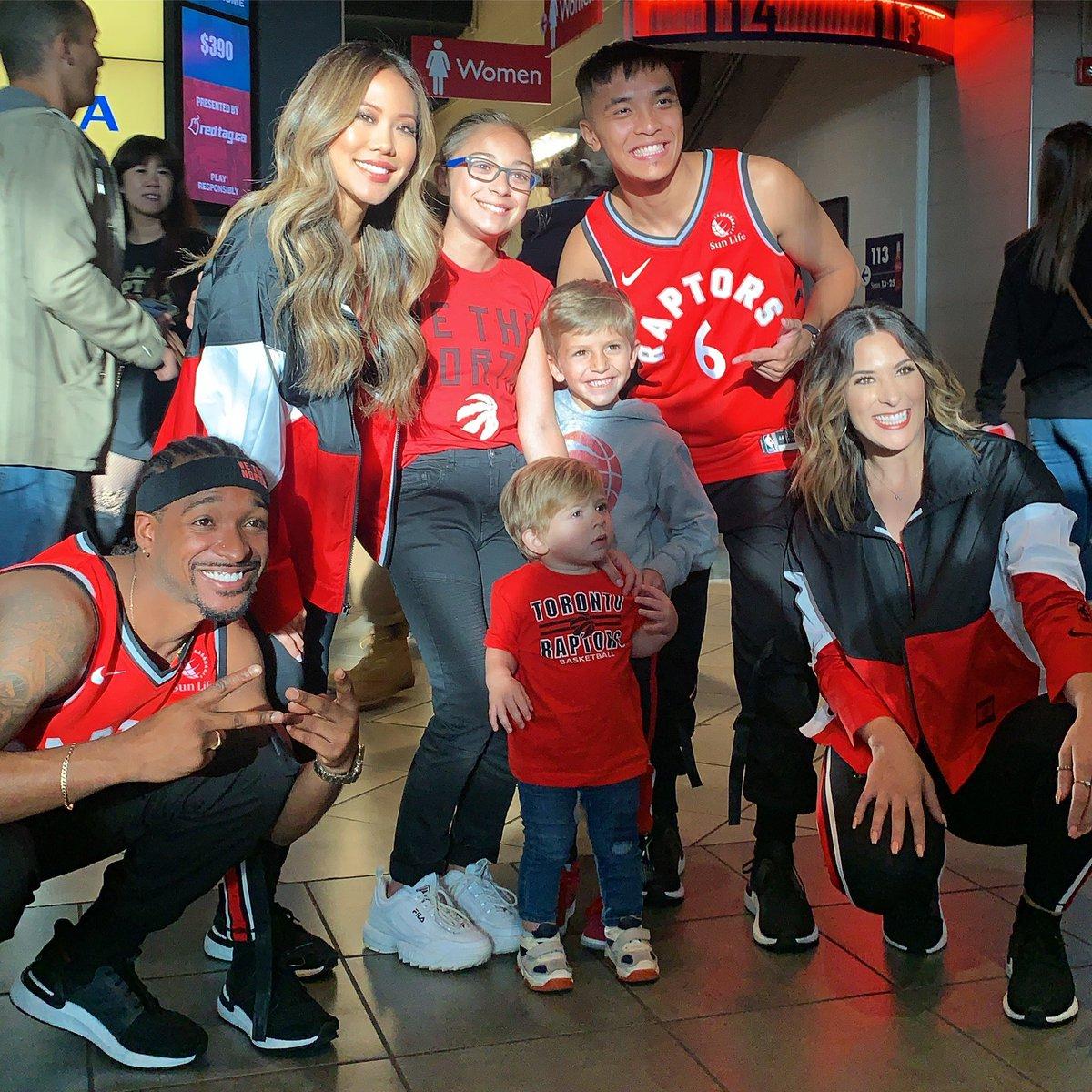 All smiles for GAME DAY 😁#Raptors vs #Pistons @ 7:30pm!! & S/O to our amazing sponsors Tan on the Run, Hair Love Studio Inc, @ThroneBarbers! #wethenorth #wethechamps #nba #nbadancers #toronto #basketball #northsidecrew