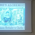 Nature's Alchemist. Practical gardener and herbalist with Excellent knowledge, still handy 390 years later. Superlative talk by @annaparkinson_  https://t.co/wm13os3ywl