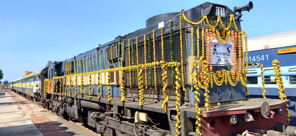 Chhota Udepur – Dhar new railway line operational; first train flagged off