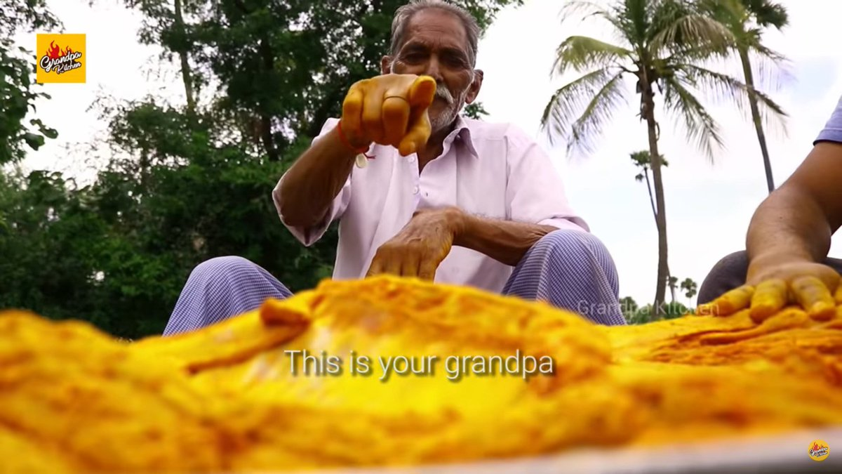 Grandpa from Grandpa's kitchen is dead. He was the most wholesome man on all of youtube, making large meals which he shared with orphans in his community. Been following him for a long time, and I cant really put into words how painful this is for me.  Rest in Peace https://t.co/ULgDPAUQD6