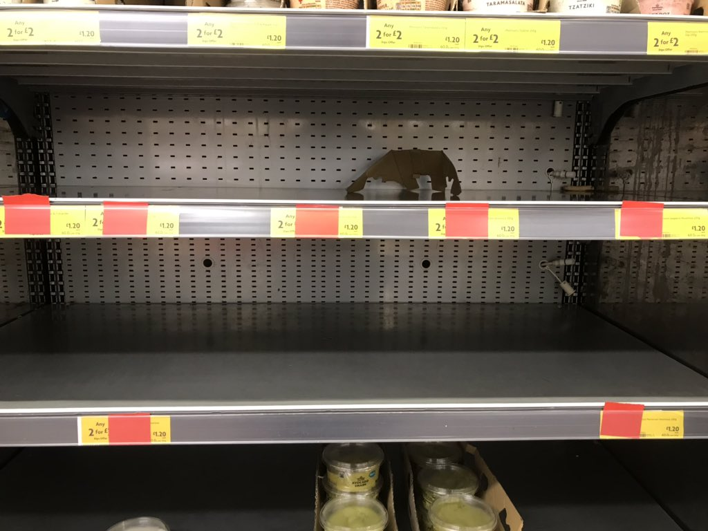 Is there another great British #HoumousShortage @morrisons? Two stores now and shelves empty.