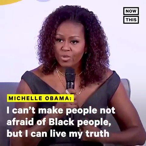 'All you can do is put your head down, do the work, and let the work—your truth speak for yourself.' — Michelle Obama