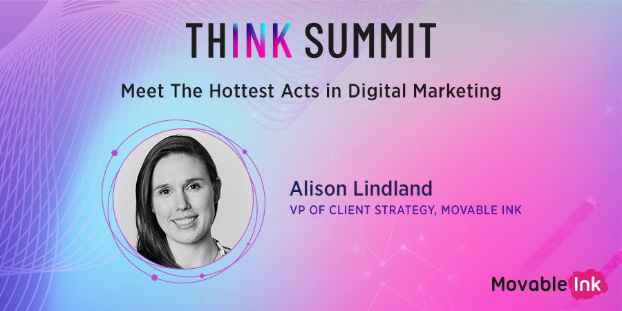 We're getting the day started by talking about how marketers can partner with their dev teams. Can't wait to hear from @GirlMobile @awscloud and @amazonmusic #ThinkSummit