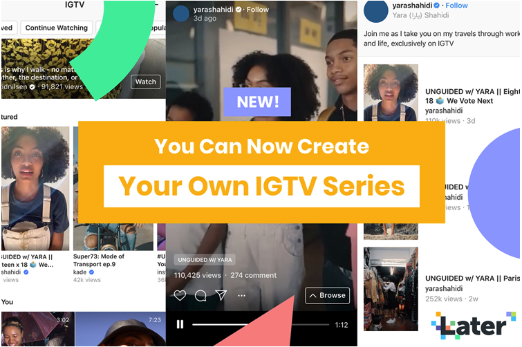 "#IGTV #Series  —> ""Instagram just announced brand new tools to help creators start their own IGTV series! »  https://t.co/grzPzHqu7B #instagrammarketing #communitymanager #igtvseries #communitymanagement #socialmedia #creators https://t.co/yW893ghCS6"