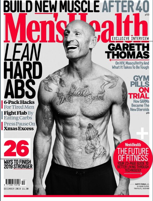 Thank you @MensHealthUK . It's a sign of where we are that a man LIVING with HIV is on the cover of Men's Health. Thank you to everyone who works to ensure this happens for not just me, but millions of people. @THTorguk