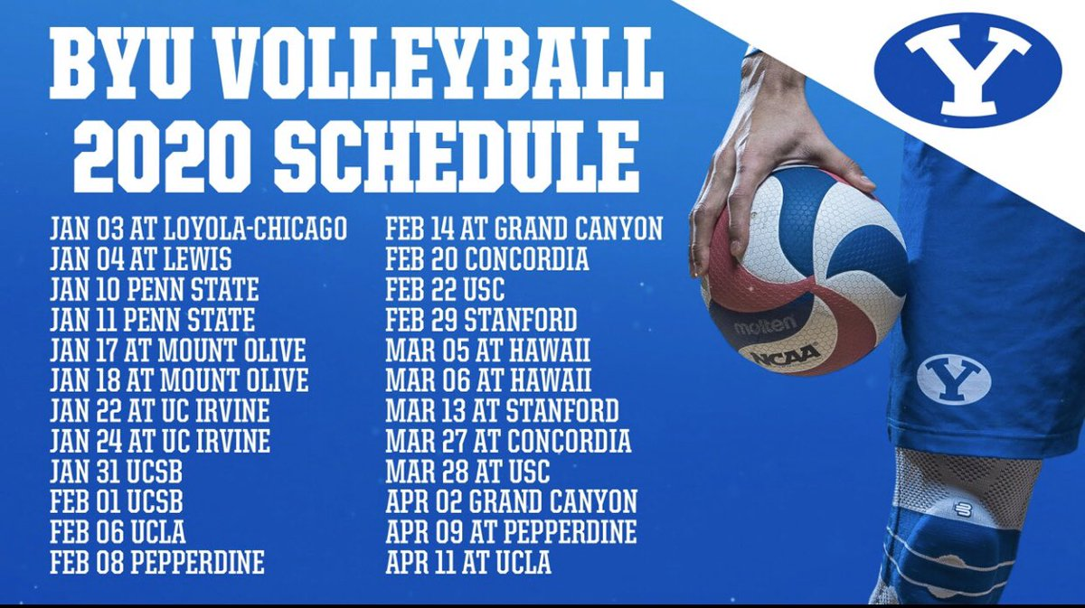 stanford volleyball schedule 2020