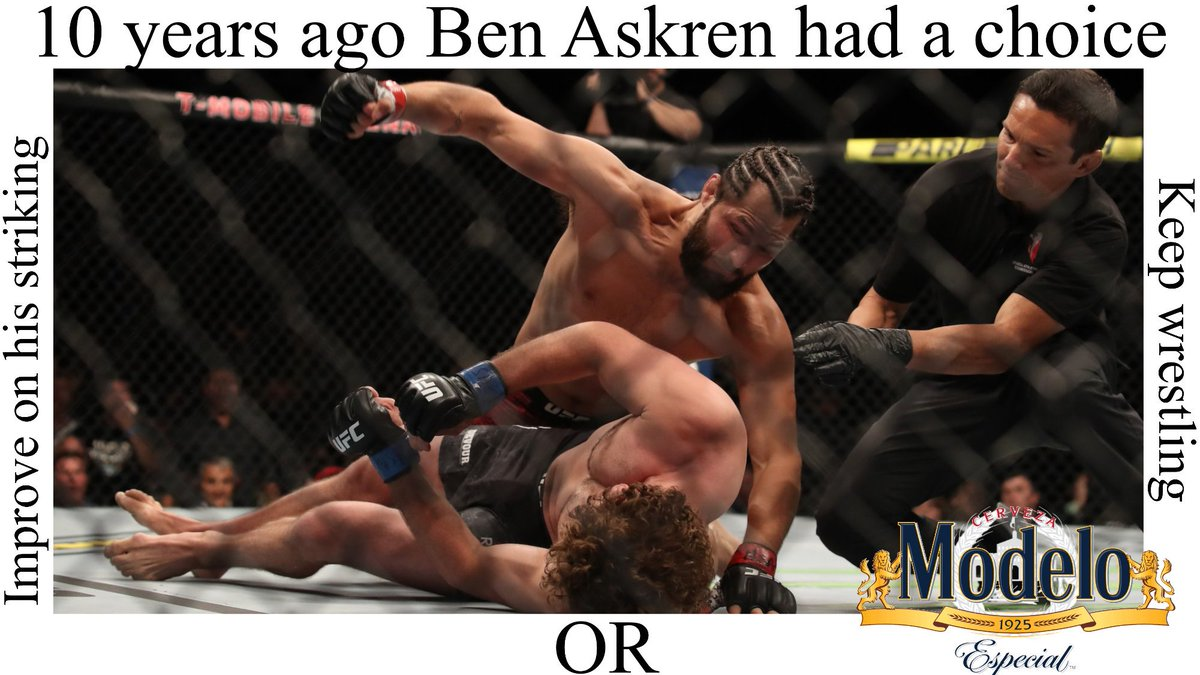 Had free time at work made this on my phone @rickymmamarks @MMA_Marks @ufc #10yearsago