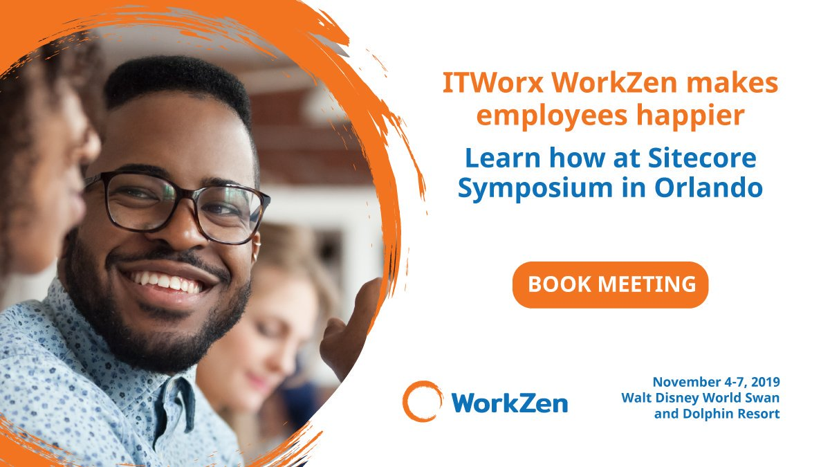 ITWorx WorkZen makes employees happier by driving engagement, increasing productivity, and improving work-life balance. Meet us at #SitecoreSYM Orlando, FL to learn more https://t.co/i4j7czmByM https://t.co/goxuZYPNsq