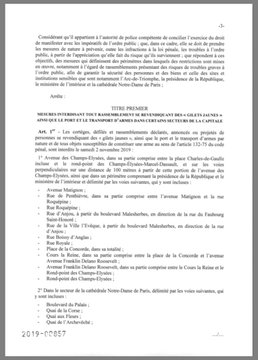 Deux rassemblements déclarés à Paris pour l'acte 51 des Gilets jaunes EIJHlNnXkAArkg6?format=jpg&name=360x360