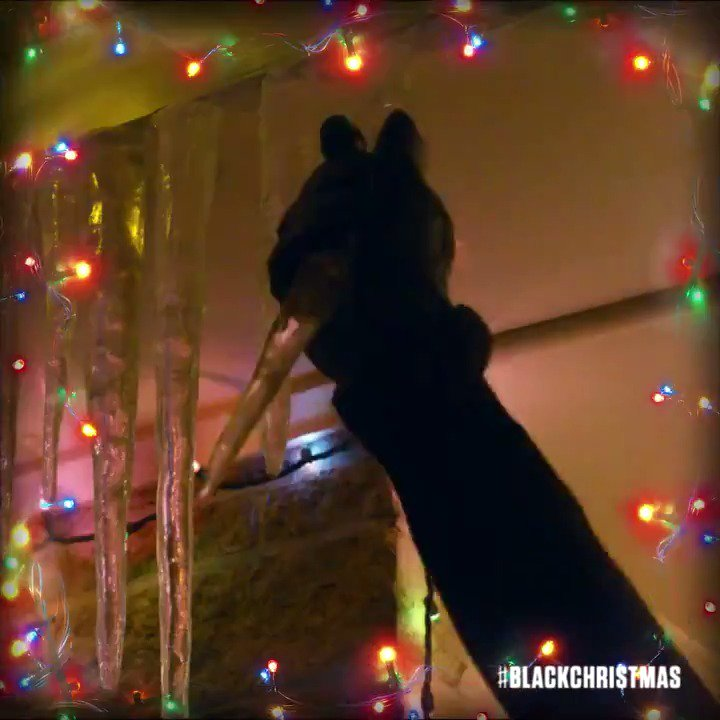 May your days be filled with fright. See #BlackChristmas in theaters Friday the 13th of December. #HorrorHolidayMovies