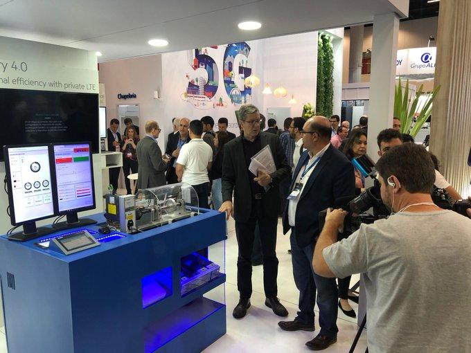 Indústria 4.0 na prática! Estamos presentes junto com a Nokia no Futurecom 2019, o...