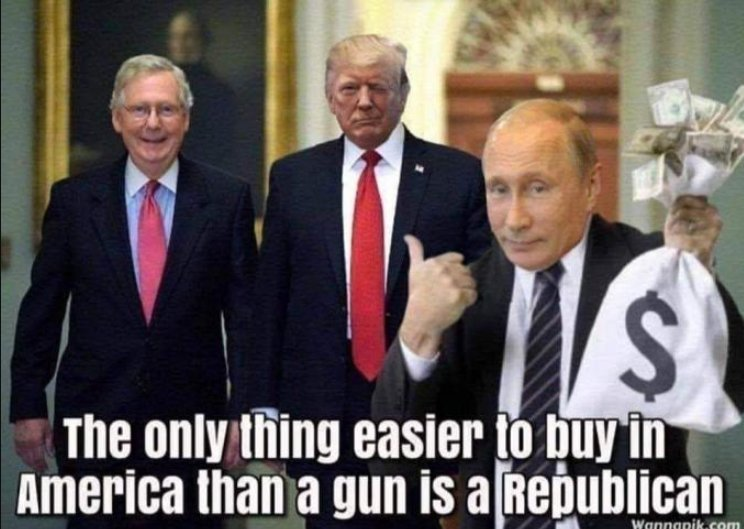 """Replying to @uvasg03: #MoscowMitchTraitor """"falls way short"""" of a patriotic American"""