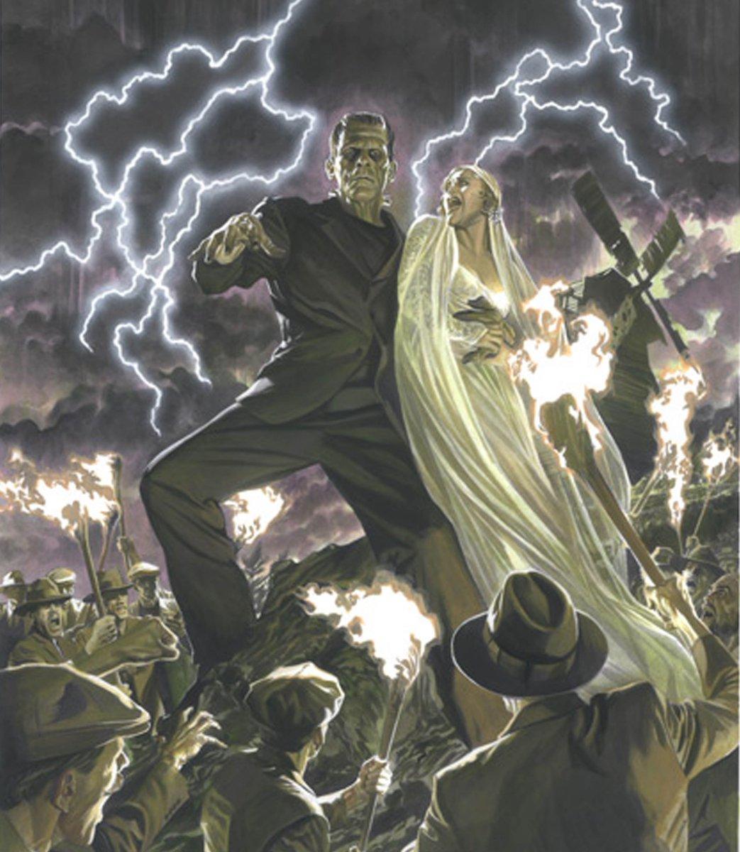 Alex Ross On Twitter Frankenstein Universalmonsters Frankenstein Monster Halloween Art