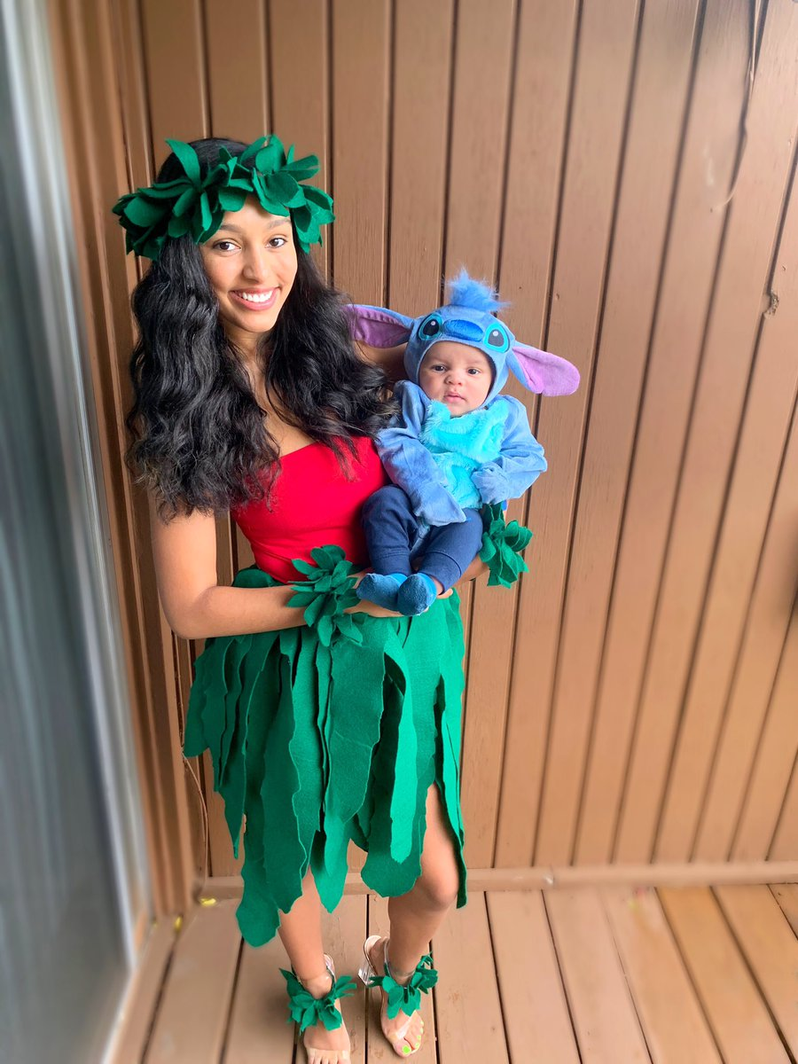 Ky Moore On Twitter My Baby S First Halloween Lilo And Stitch