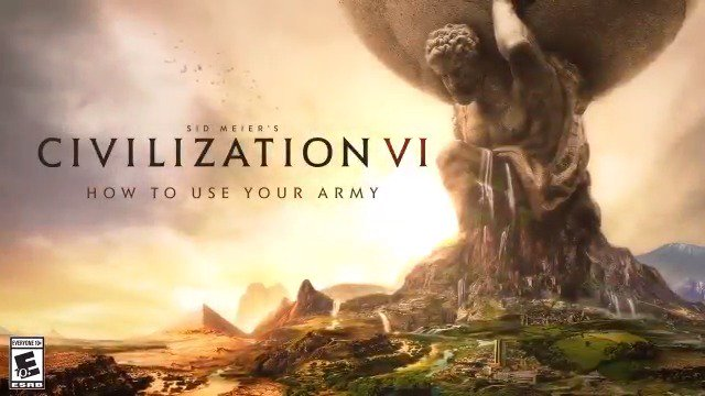 If you want peace, prepare for war. Civilization VI launches on #PS4 and #XboxOne on November 22. Pre-order your copy today at http://civilization.com
