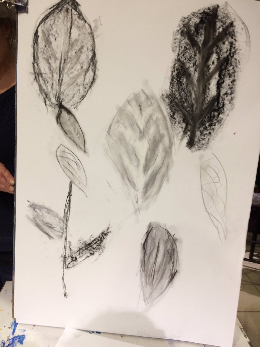 Part of adjusting into life as a Freelance WASH consultant also means adjusting life in general. Last night I took a giant step and joined an art class as part of my new life.  Picture: Leaves, by Amita Bhakta #WorkLifeBalance #amateurartist #whatcerebralpalsy <br>http://pic.twitter.com/VaXlpDyERm
