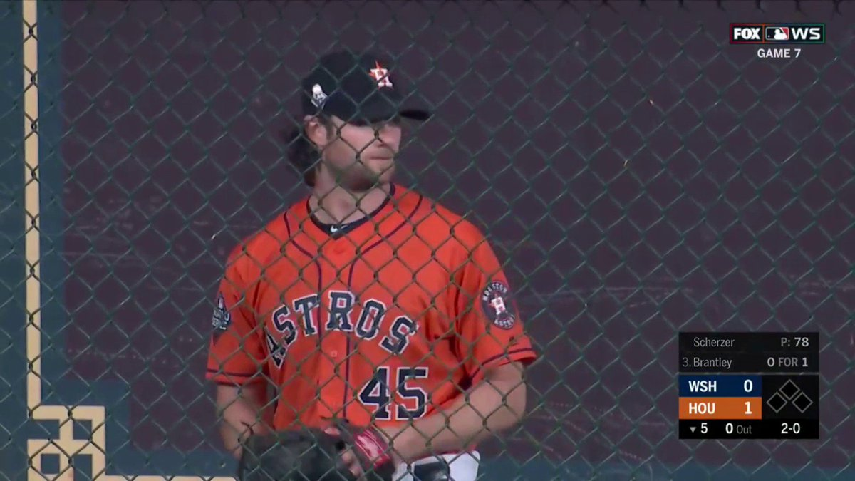 Astros: Fans can't believe A.J. Hinch didn't let Gerrit Cole pitch