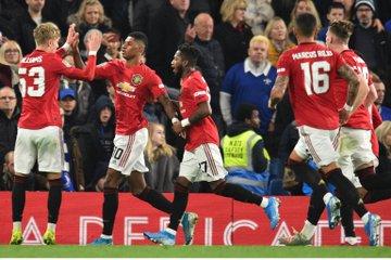 مانشستر يونايتد يتاهل إلى ربع نهائي كأس الرابطة الإنجليزية على حساب تشيلسي بثنائية