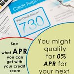 Image for the Tweet beginning: Credit scores are everything when