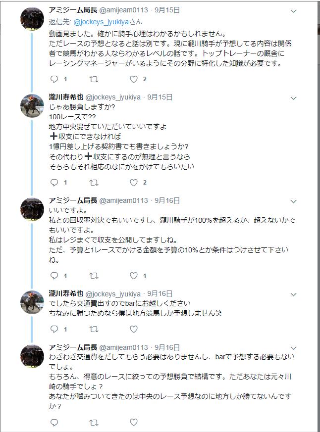 や 競馬 塾 じゅ き 瀧川