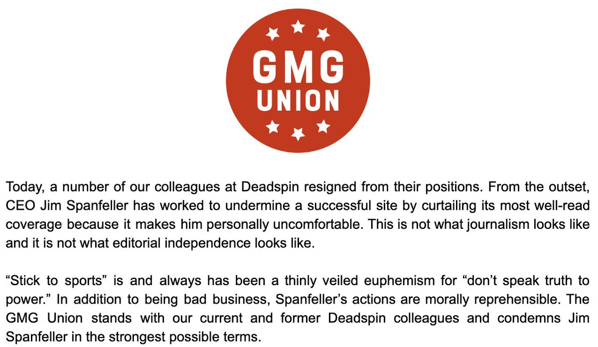 After Days Of Resignations, The Last Of The Deadspin Staff Has Quit