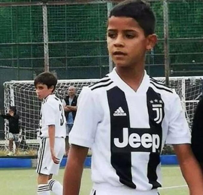 View image on Twitter  Cristiano Ronaldo's son follows his step with 58 goals for Juventus academy EIKk0L XYAAL2QF format jpg name small