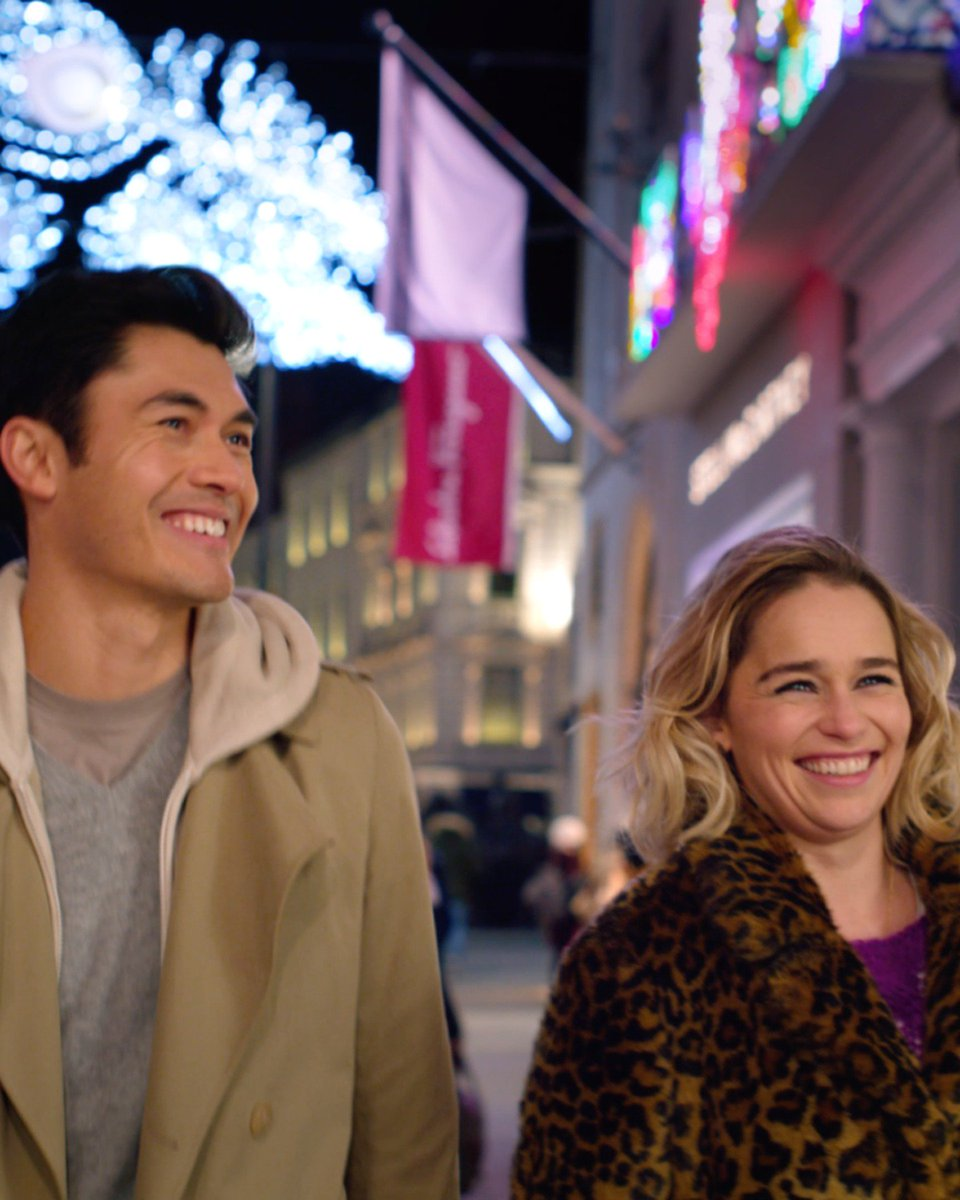 Experience the magical chemistry between @emiliaclarke and @henrygolding in #LastChristmasMovie. In theaters November 8. ❄️❤️️