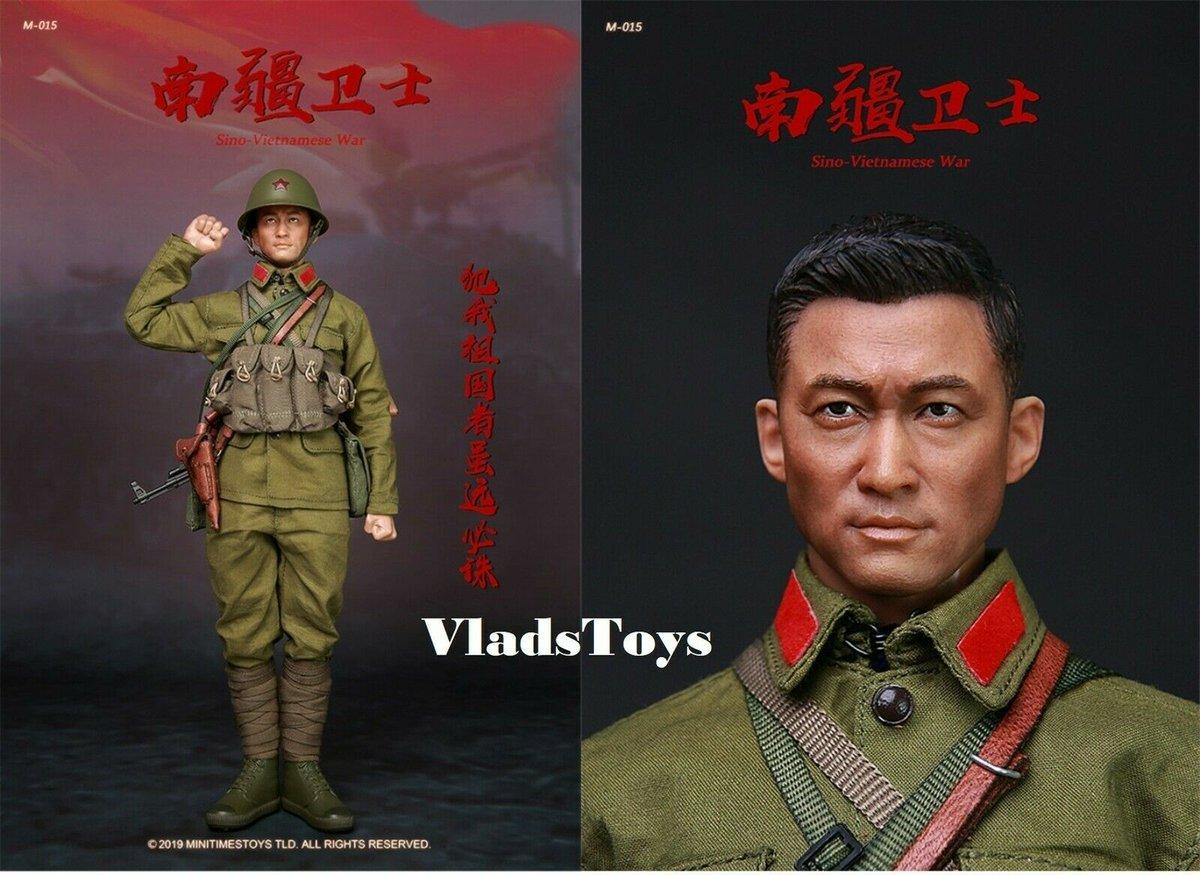 Mini Times Toys 1//6 M015 PLA Sino-Vietnamese War Male Action Figure Soldier Doll