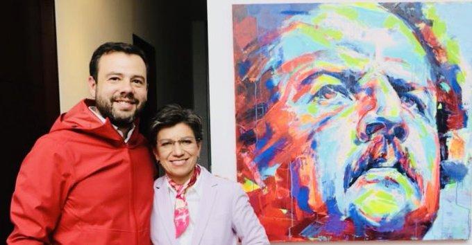 EIKuPPxWwAAxCRM?format=jpg&name=small - Alcaldesa Claudia López sorprende con conciliadora visita a sus excontrincantes