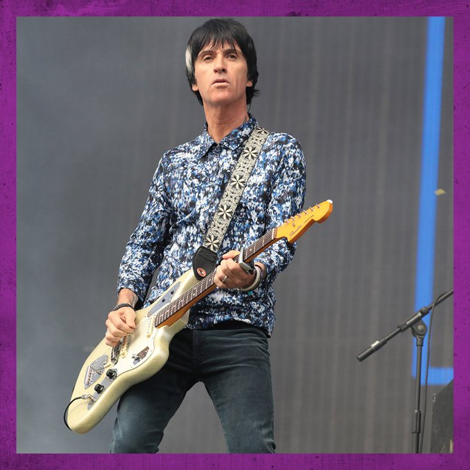 Happy birthday to this icon. Johnny Marr is 56 today