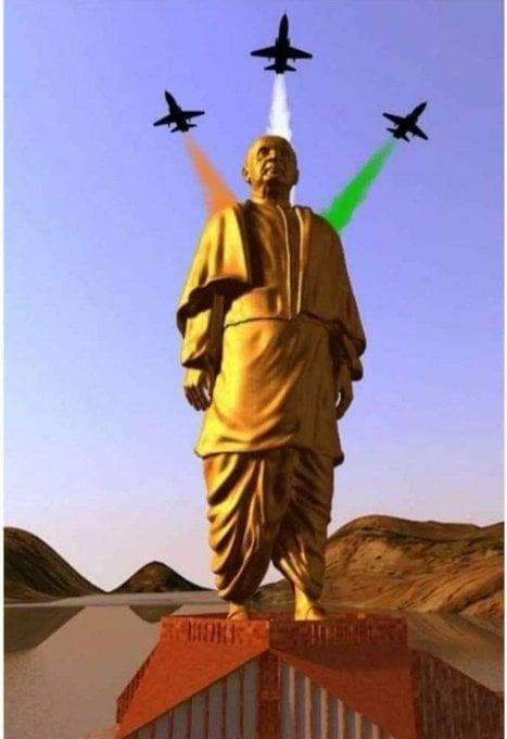 सरदार वल्लवभाई भारतीय राजाओं की राज शाही और उनकी रियासतों का एकीकरण कर के अखंड भारत का निर्माण  किया। सरदार वल्लवभाई पटेल जी को शत शत नमन । धन्यवाद हमें स्वतंत्र भारत में जन्म देने के लिए। #StatueOfUnity #RunForUnity #SardarPatelStatue  #SardarVallabhbhaiPatelpic.twitter.com/uVul4XyQn8