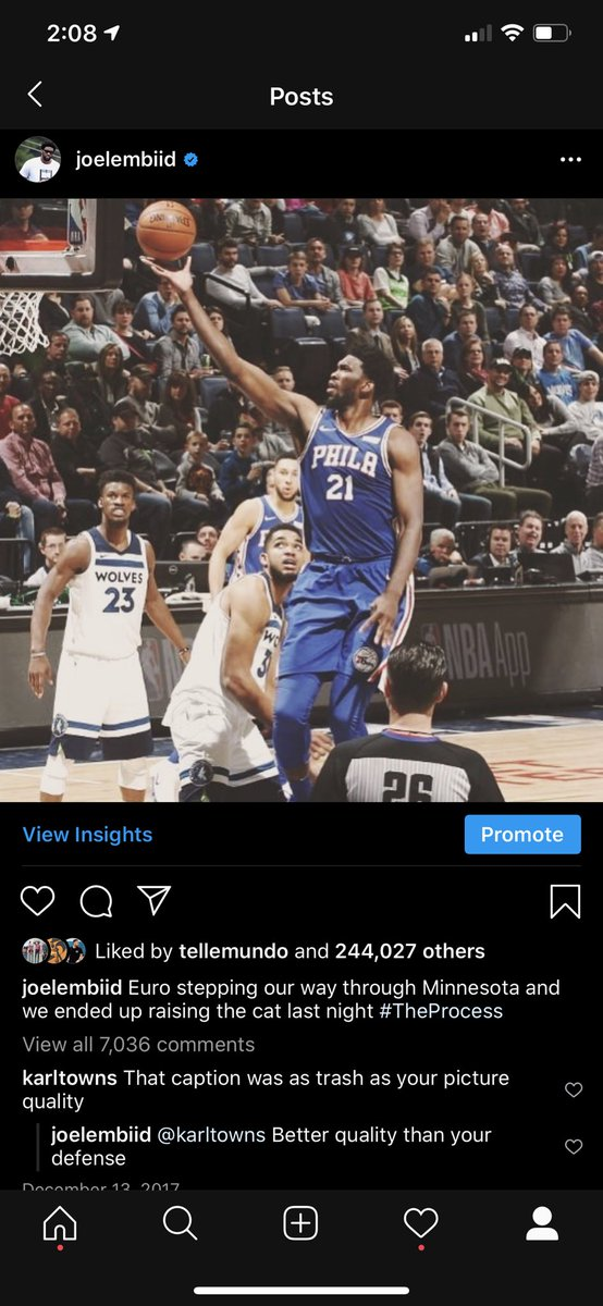 That tough guy act ain't cutting it .... you know what you are.. you know what you've always been>>> A PUSSY  (SAY IT LOUDER FOR PEOPLE IN THE BACK) Been kicking your ass and pretty please make the playoffs before you talk. It's a known thing that I OWN YOU. @KarlTowns