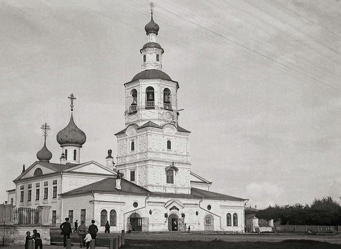 31 октября 1654 в Вологде во избавление от моровой язвы за одни сутки построена обыденная церковь.