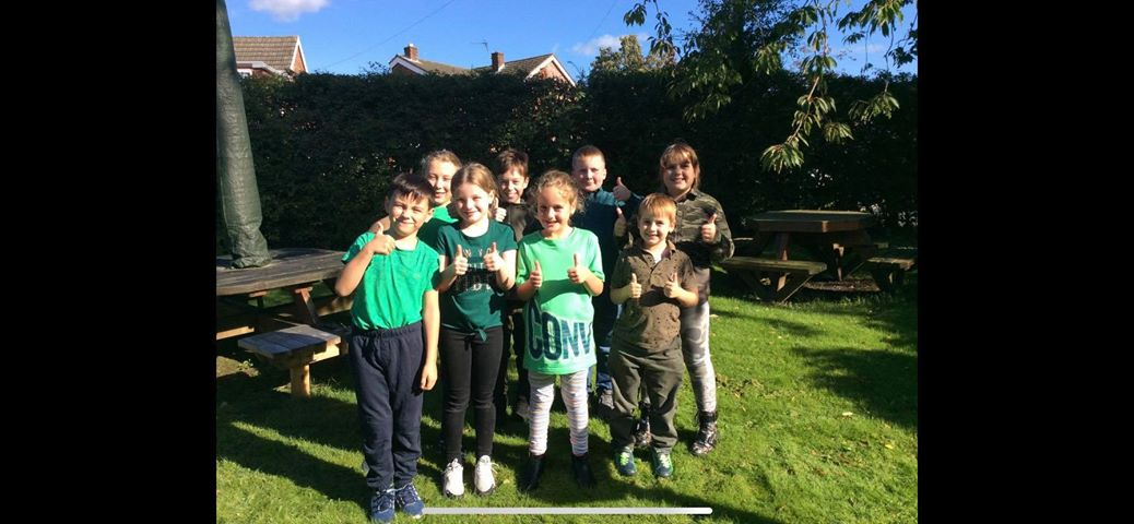 Nessy on Twitter: Holly and her friends support #GOGreenfordyslexia by wearing #green to school!…