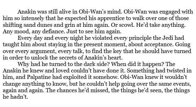 """'The Last One Standing' is a short story by Jude Watson in the """"Legacy of the Jedi/Secrets of the Jedi"""" omnibus.  #BookQuoteoftheDay #ObiWanKenobi <br>http://pic.twitter.com/tQ3athePiN"""