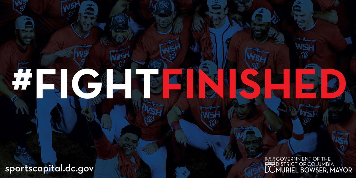 When they say you won't, tell them you're from Washington, DC and show them you will.  #FIGHTFINISHED #WorldSeries https://t.co/N2JqRZpEFQ