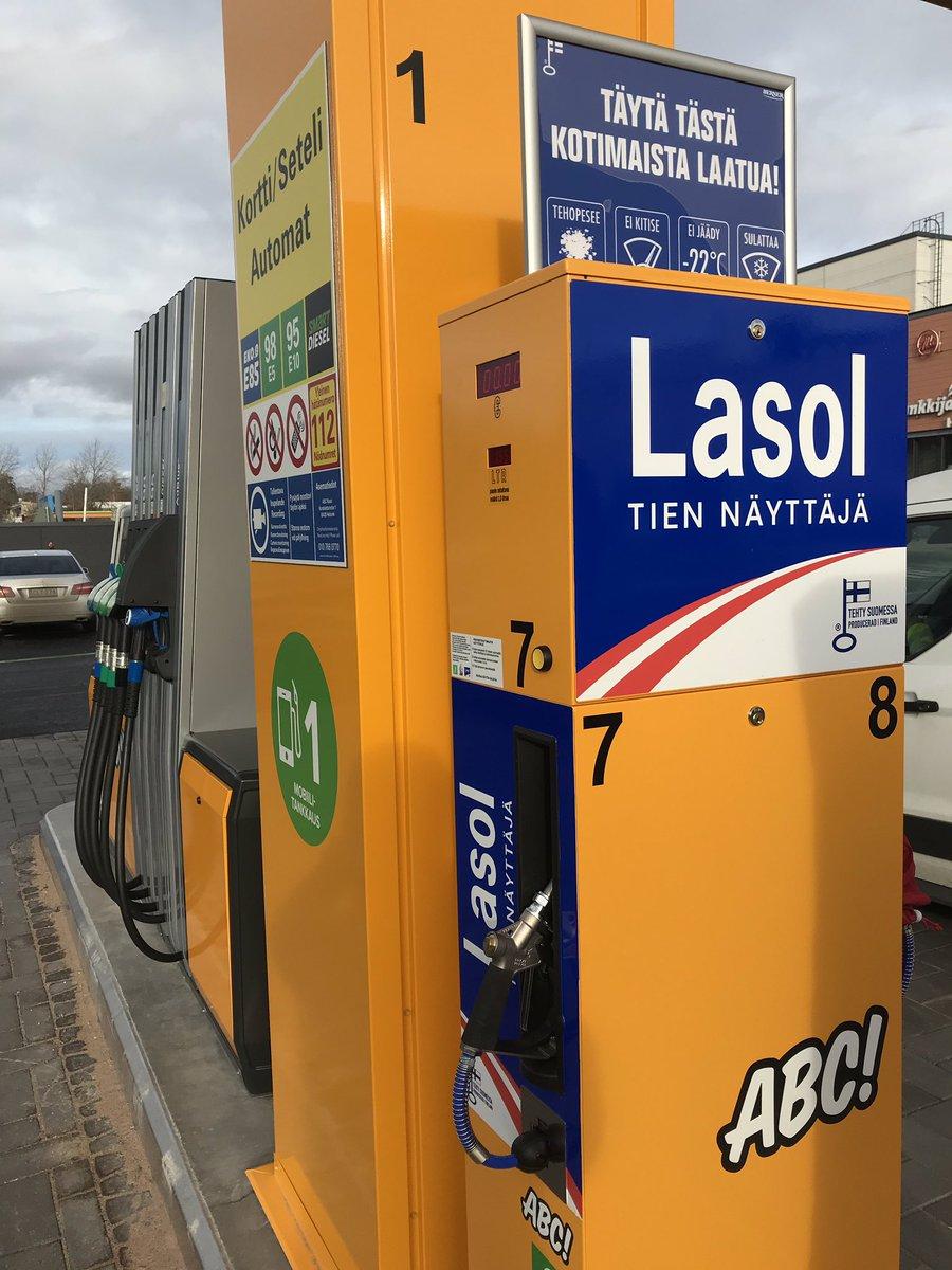 E85 Gas Stations >> Hannu Houni On Twitter Abc Kaaren Upouusi Automaattiasema