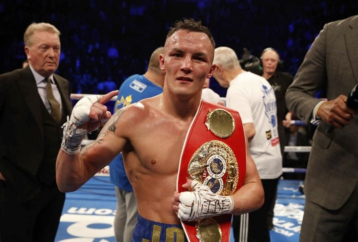 Boxer Josh Warrington At WWE SmackDown On Friday