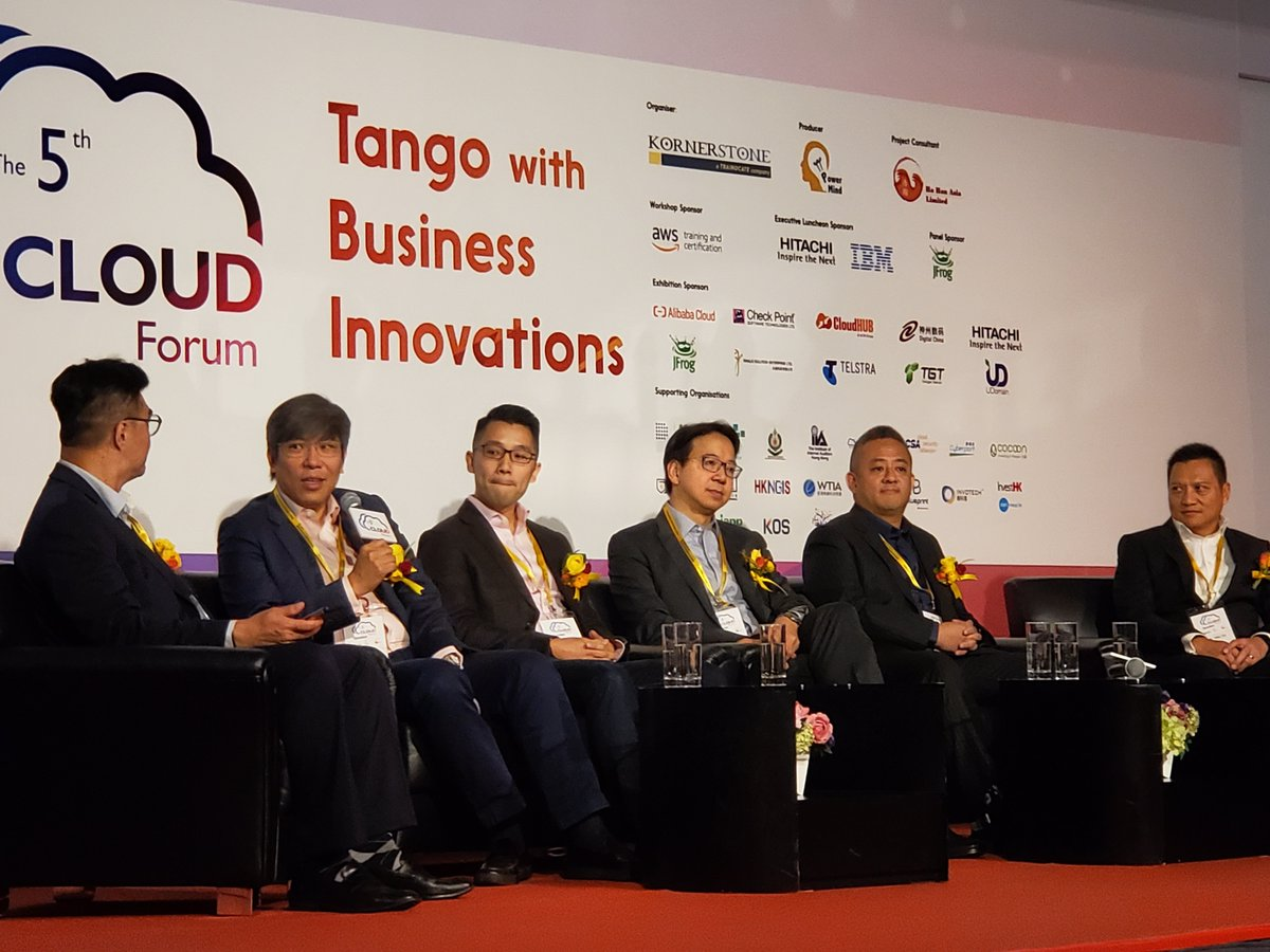 Our Founder & CEO, Mr. Wilson Yuen was invited to the #5thCloudForum as a panelist. #TFI's superior #video & #livestreaming technology support different #cloud solutions for different business needs!  About #TFI #天開: https://t.co/k2ua6gAQHD #tfidm #live #HERMESLive #encoder https://t.co/lxihQCyLht